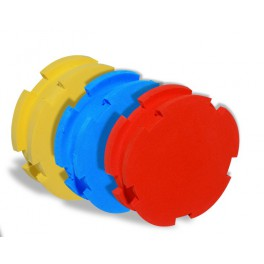 Foam disc Delalande Blue, Yellow or Orange.