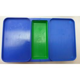 Caja cebo 3 compartimentos
