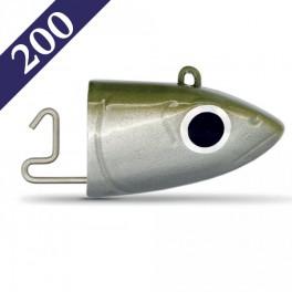Tête Plombée Black Minow 2060