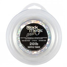 Black Magic Supple trace Shock Leader